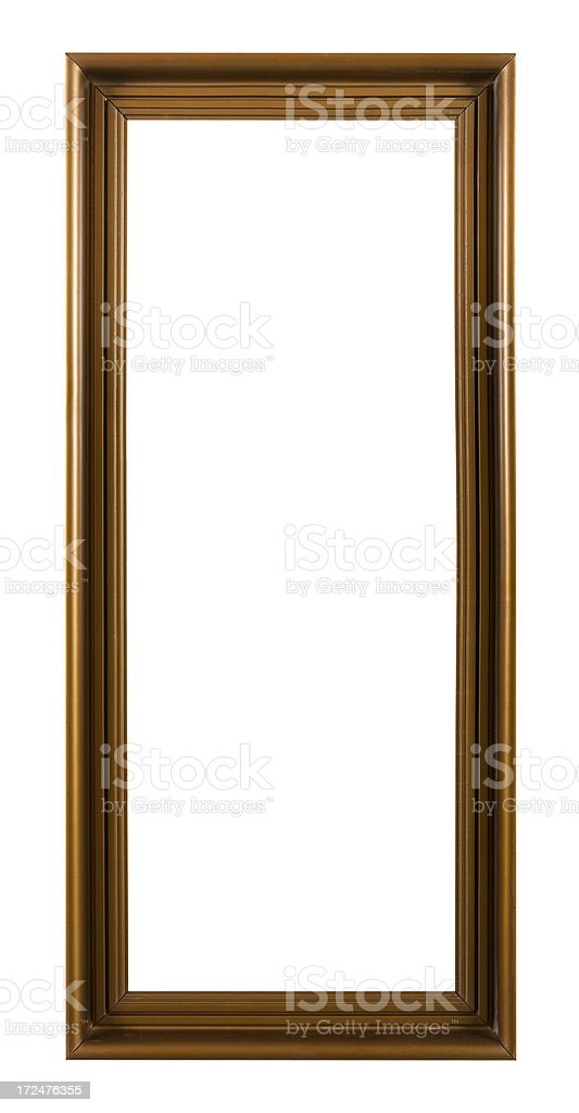 Vertical Picture Frame royalty-free stock photo