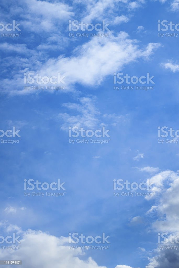 Vertical Sky (XXXL) royalty-free stock photo