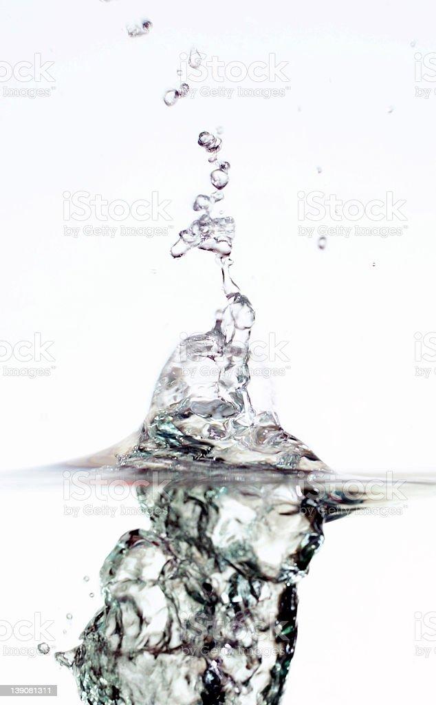 vertical splash royalty-free stock photo