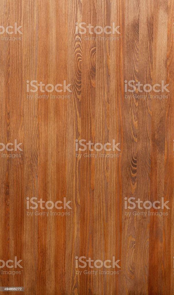 Vertical texture of wood. Mahogany stock photo