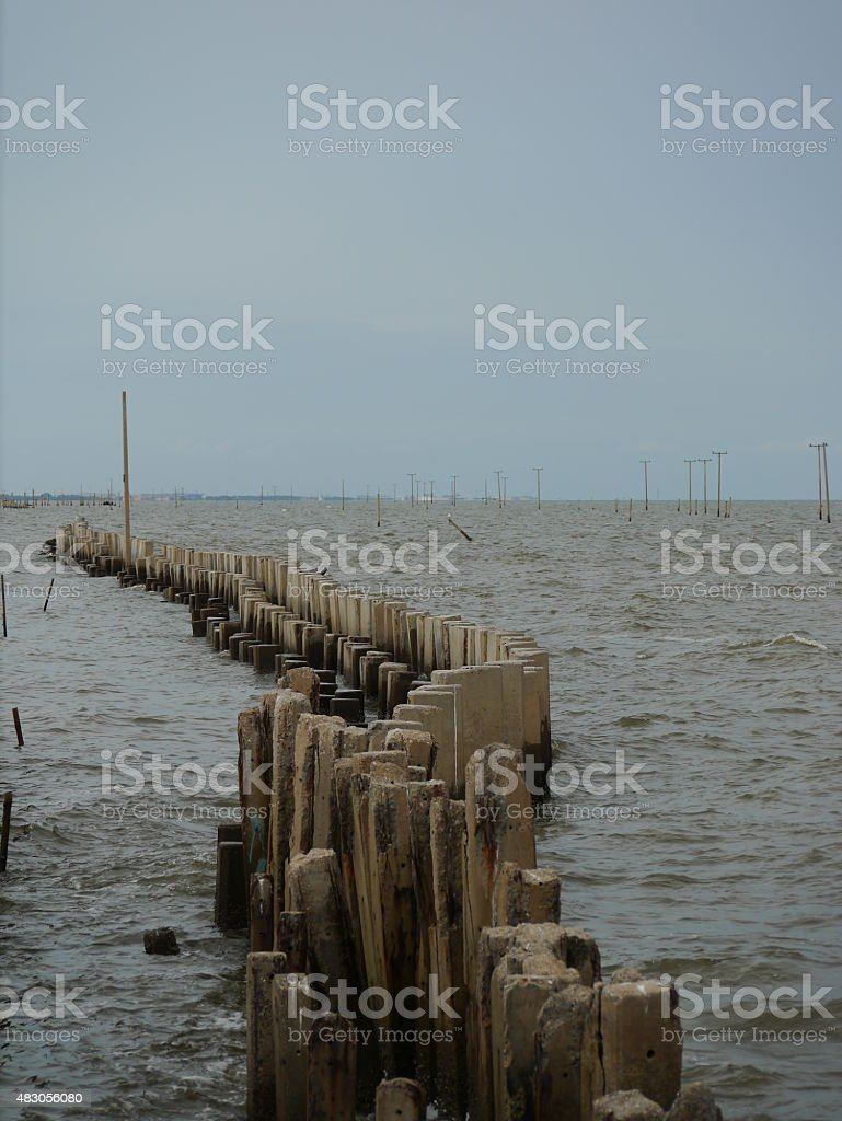 Vertical Wave stock photo