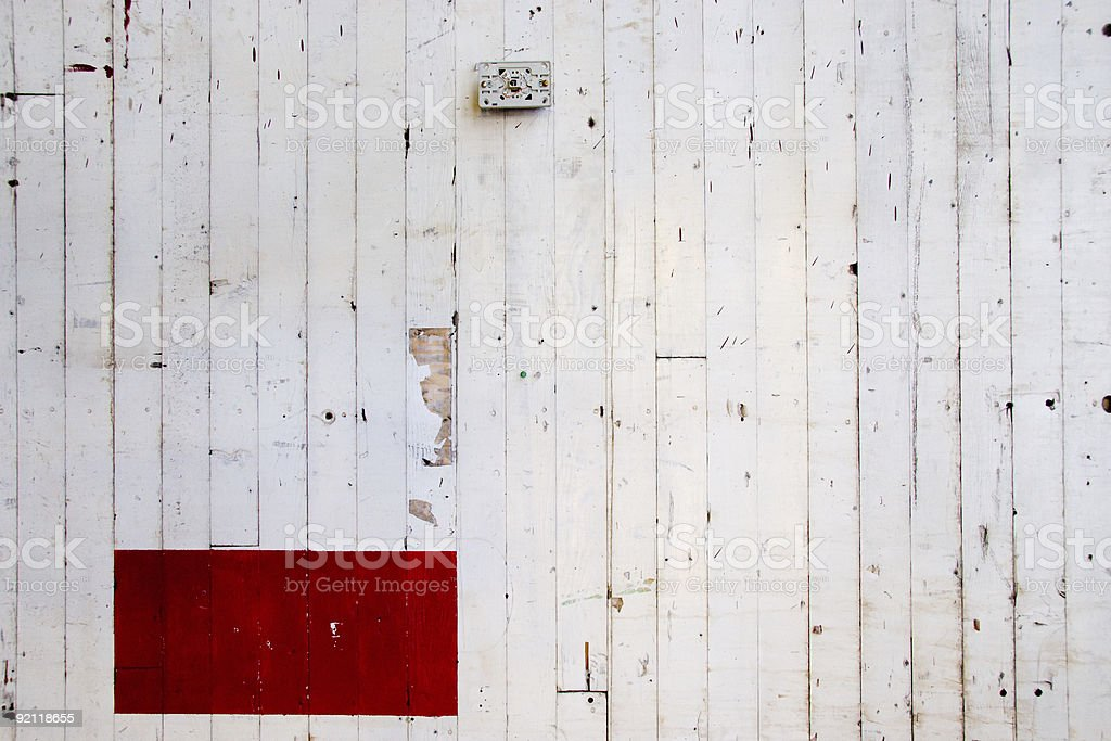 Vertical White Red Box royalty-free stock photo