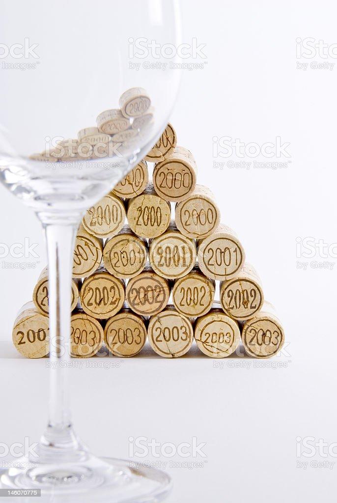 Vertical Wine Tasting royalty-free stock photo