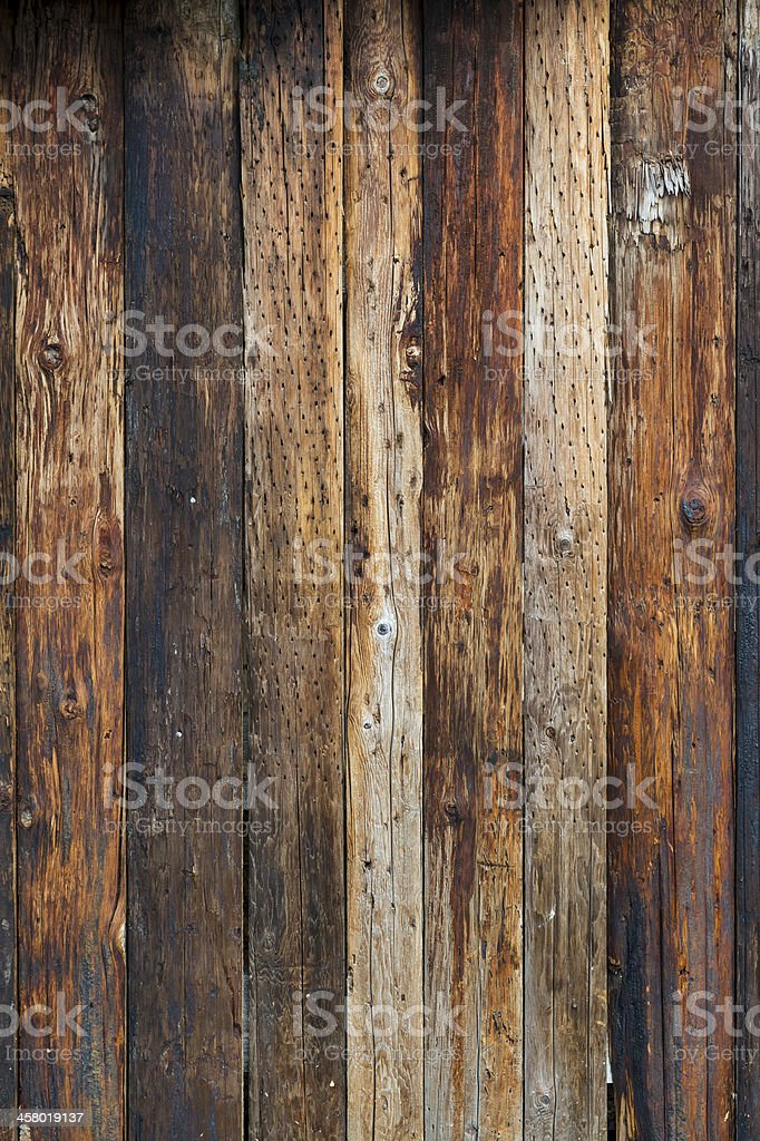 Vertical Wood Background stock photo