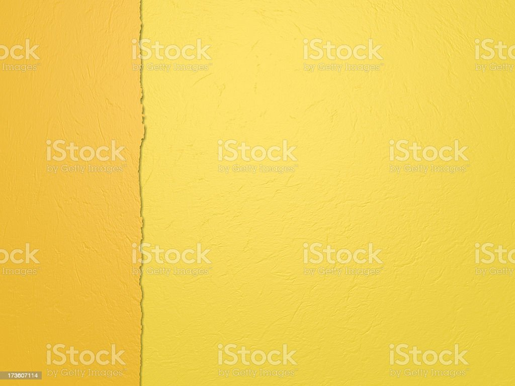 Vertical yellow paper royalty-free stock photo