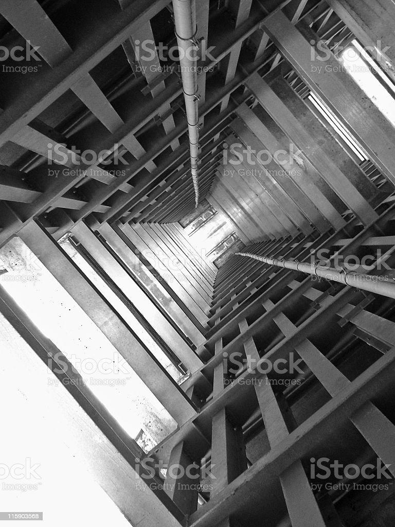 Vertigo stock photo