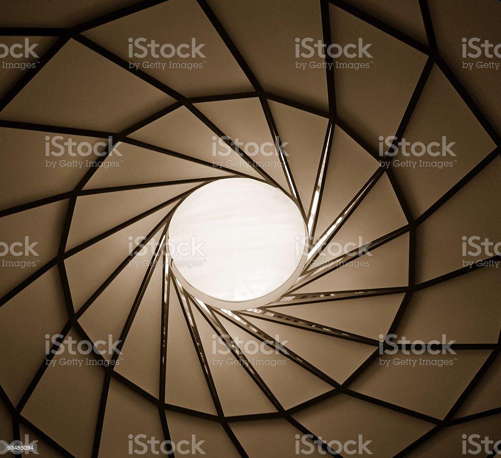 Vertigo. royalty-free stock photo