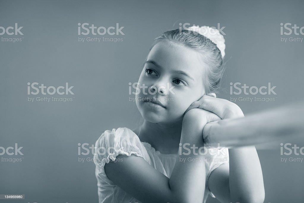 Very beautiful girl royalty-free stock photo