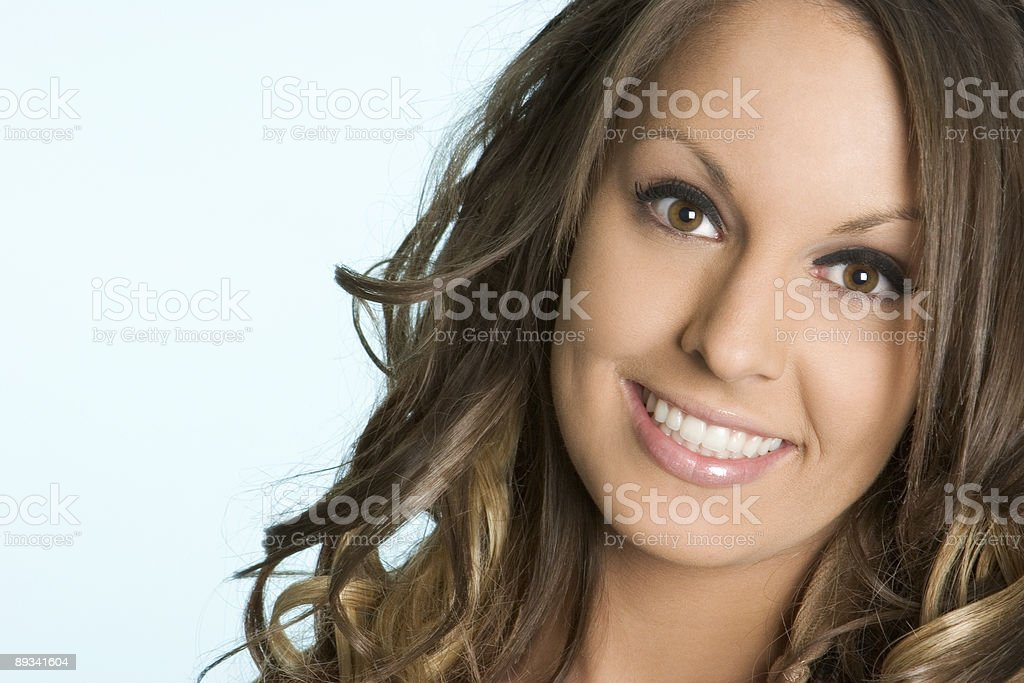 Very beautiful lady royalty-free stock photo