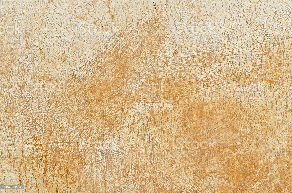 Very dirty and rusty white wall royalty-free stock photo