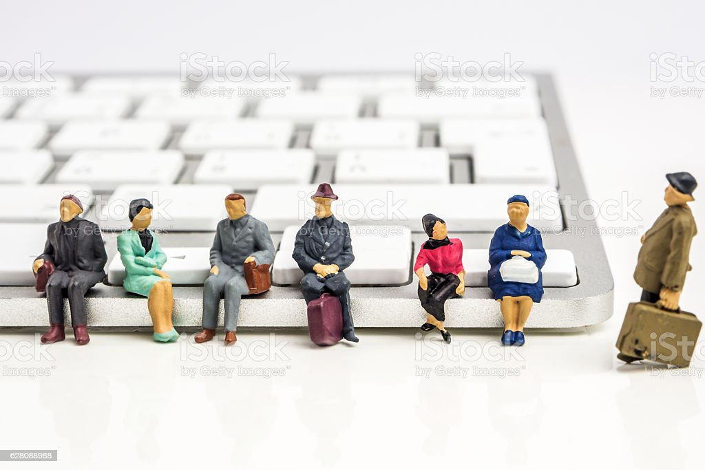 very fast technology changes stock photo