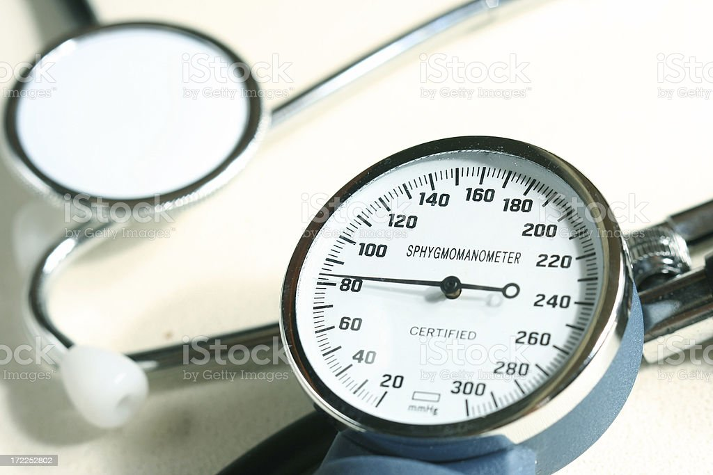 Very good pressure! stock photo