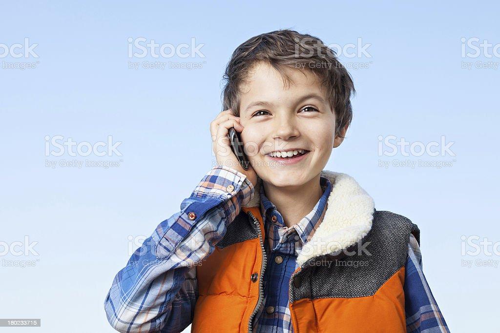 Very Happy Boy royalty-free stock photo