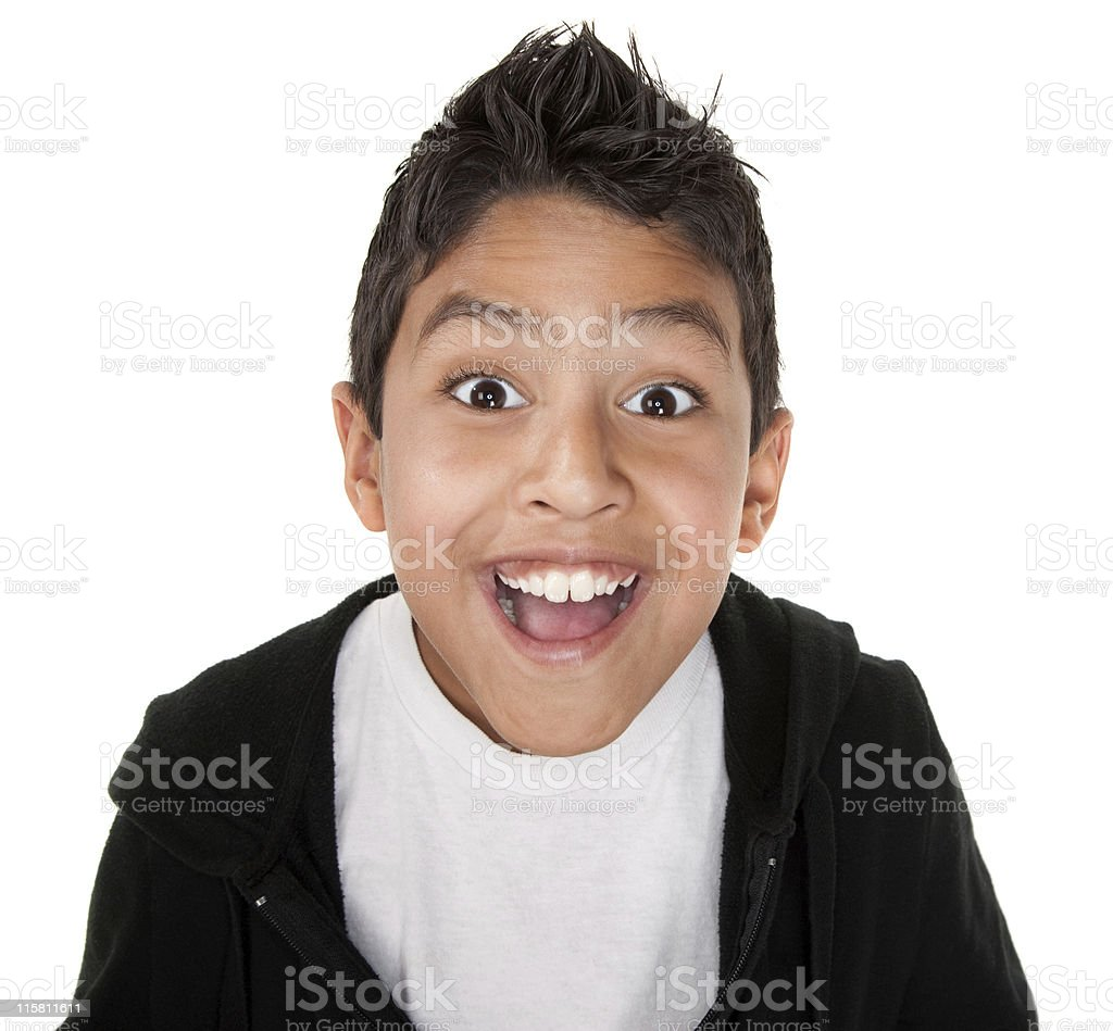 Very Happy Youngster royalty-free stock photo