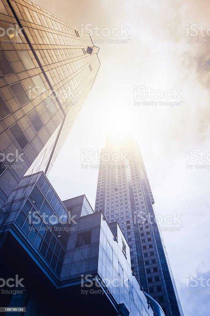 Very huge modern Office Buildings royalty-free stock photo