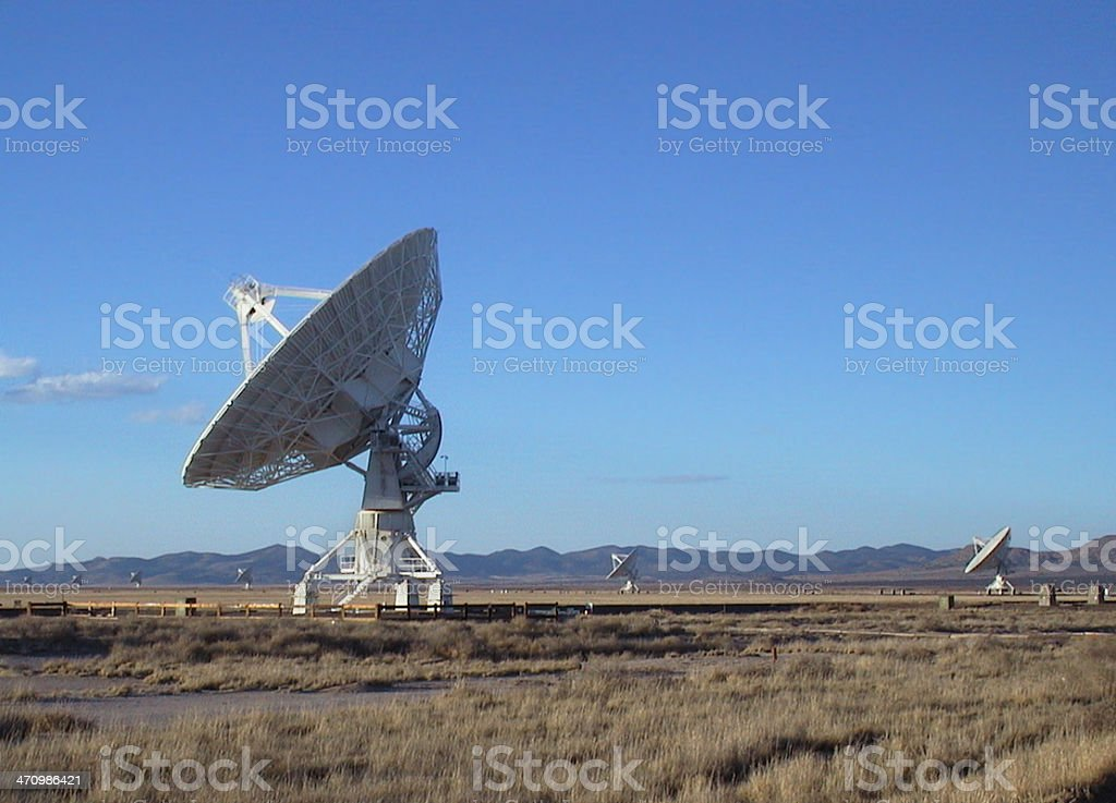 Very Large Array 2 stock photo