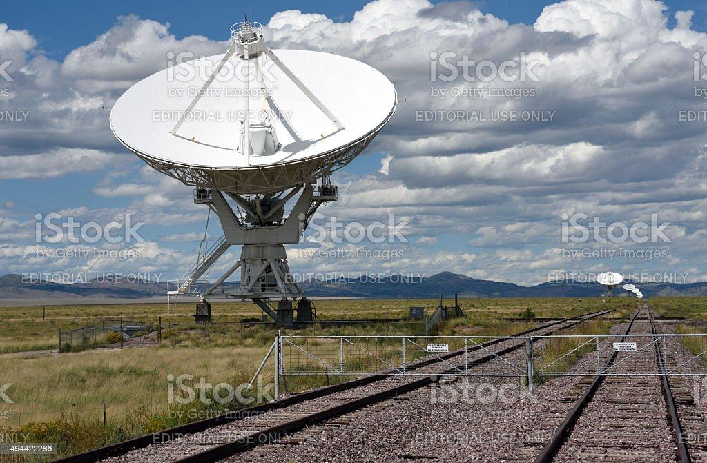 Very Large Array New Mexico stock photo