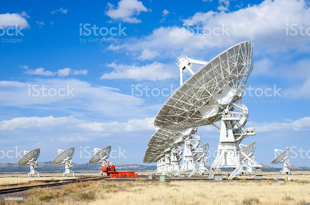 Very Large Array, stock photo