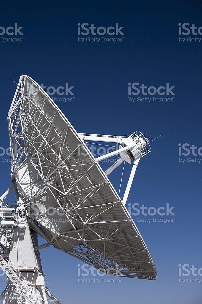 Very Large Array Radio Telescope royalty-free stock photo
