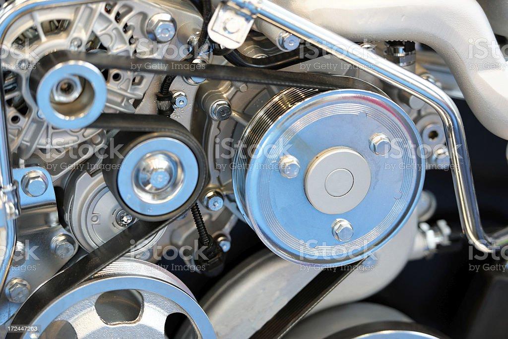 very new engine stock photo