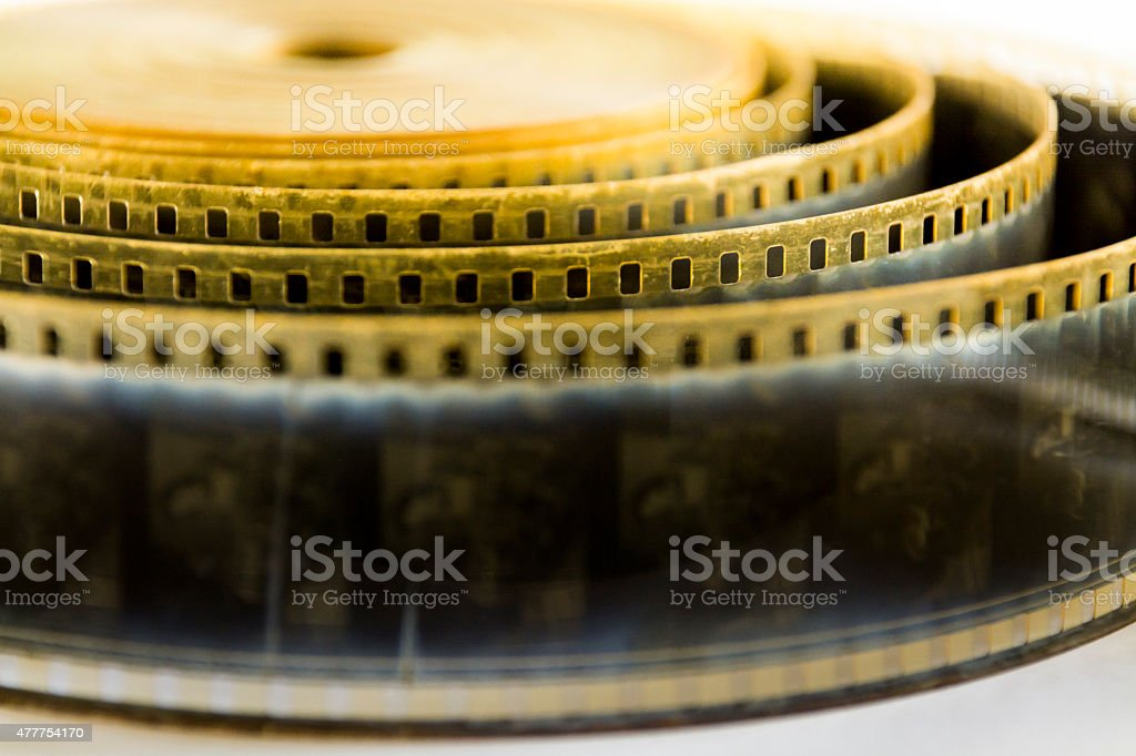 Very old 35mm film stock photo