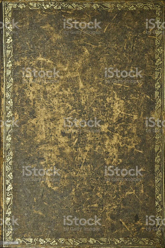 very old book texture royalty-free stock photo