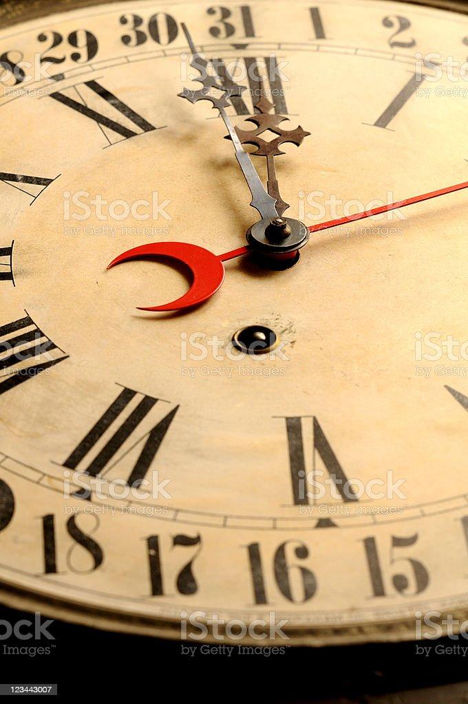 Very Old Clock V royalty-free stock photo