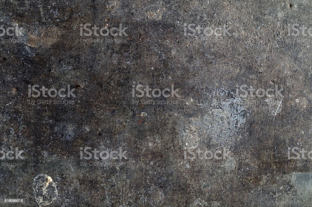 very old dirty corroded brass sheet stock photo
