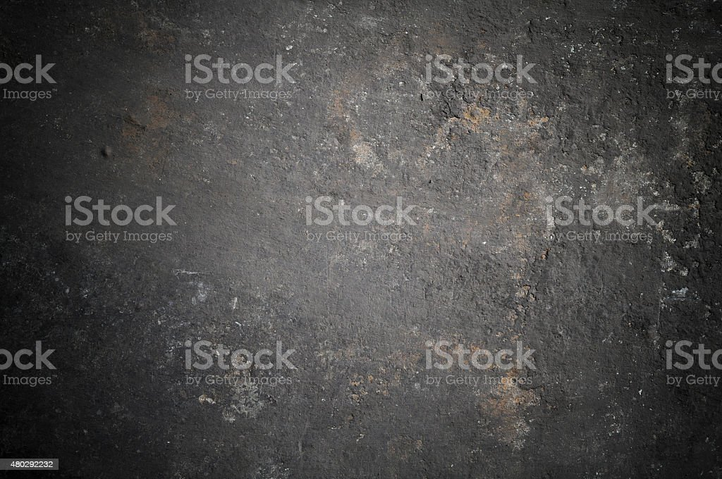 very old dirty sheet metal stock photo