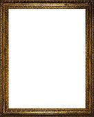 Very Old Golden Frame - vertical