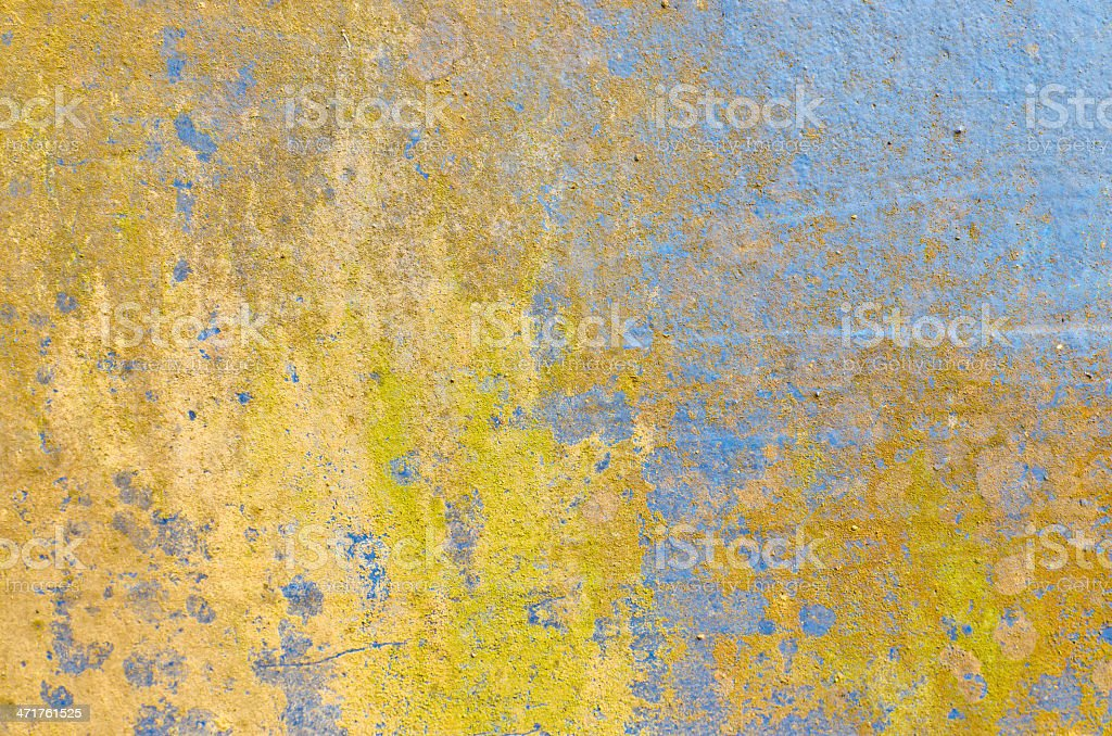 Very Old rusty damage steel floor for background royalty-free stock photo