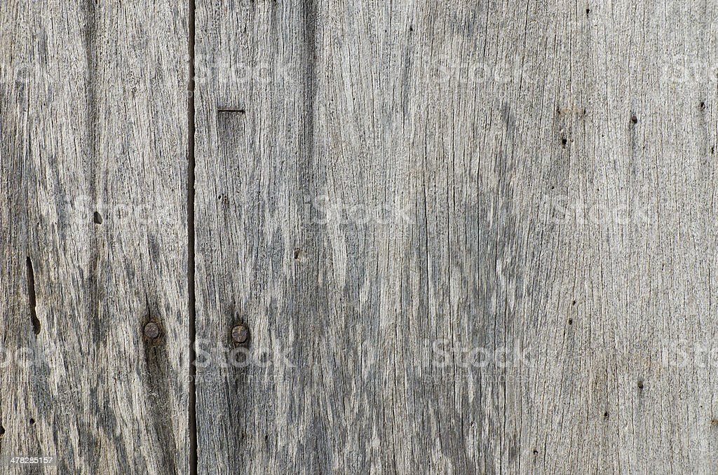 Very old rusty hardwood door for background use royalty-free stock photo