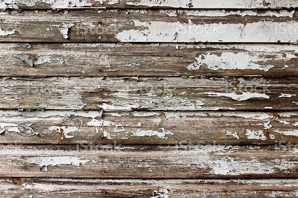 very old wooden wall stock photo