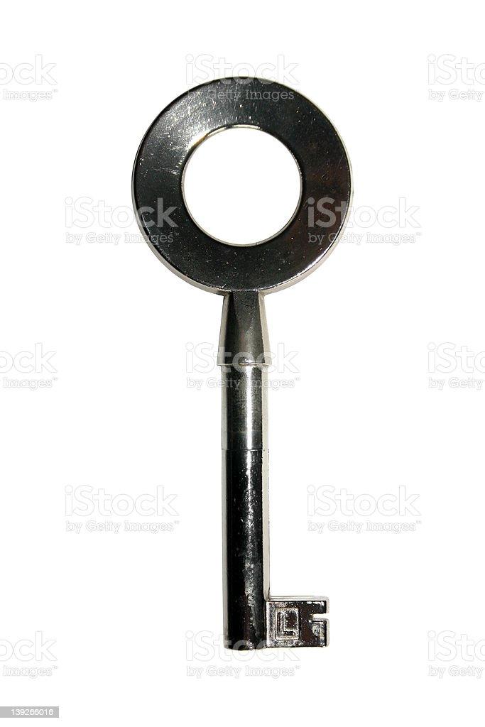 Muito simples chave. foto de stock royalty-free