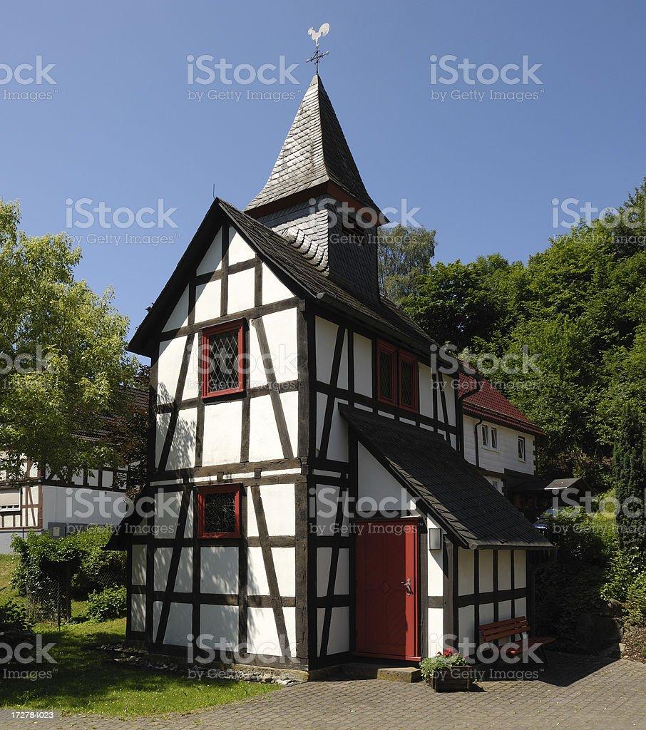 very small church royalty-free stock photo