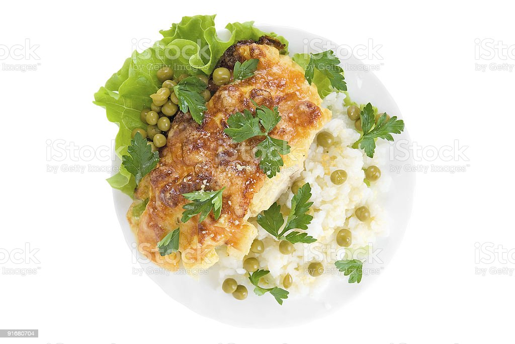very tasty Chicken dish royalty-free stock photo