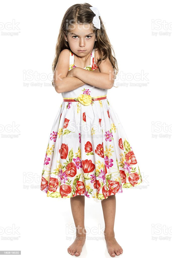 Very upset child royalty-free stock photo