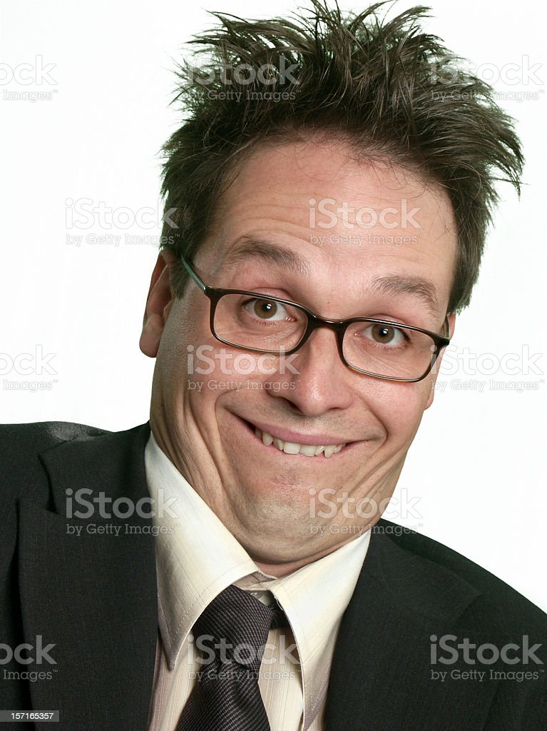 Very Weird Business royalty-free stock photo