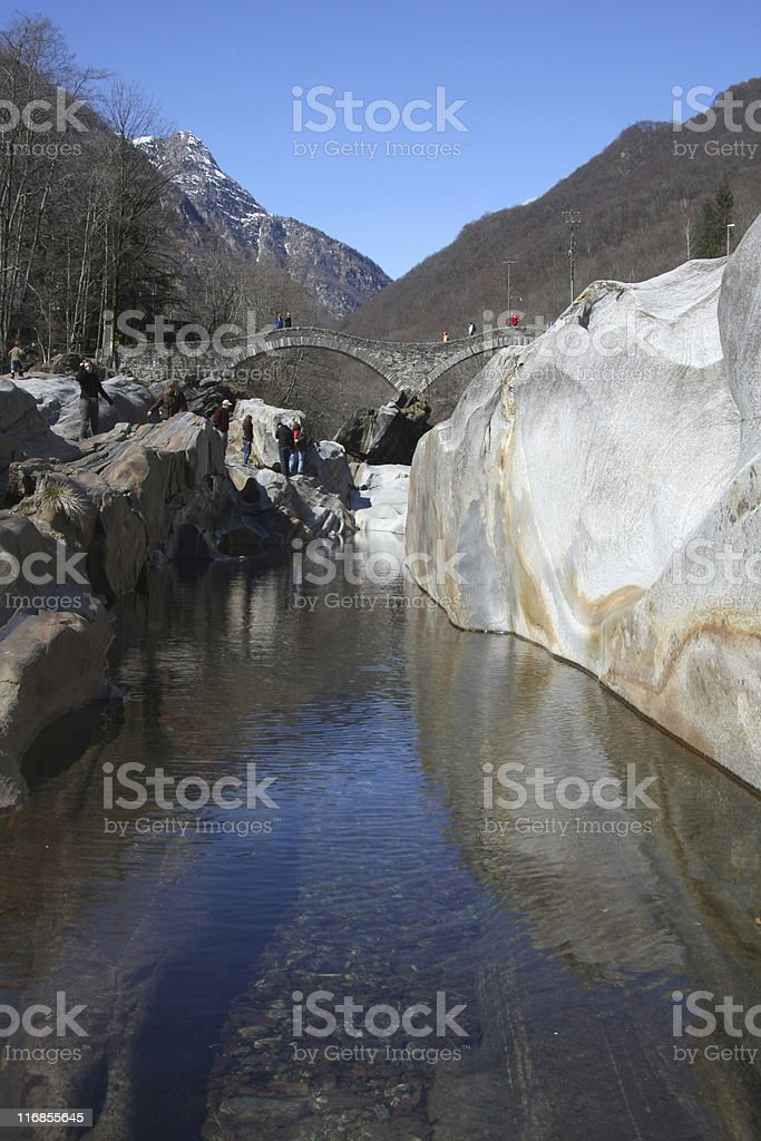 Valle Verzasca royalty-free stock photo