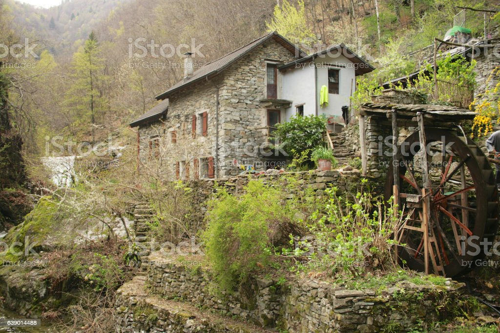 Verzasca Valley stock photo