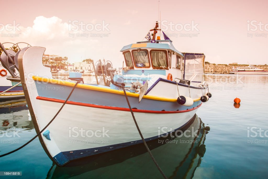 Vessel at the Dock royalty-free stock photo