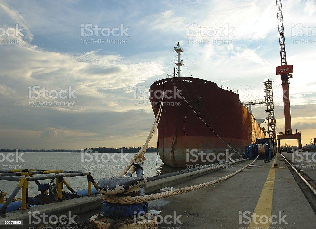 vessel I royalty-free stock photo