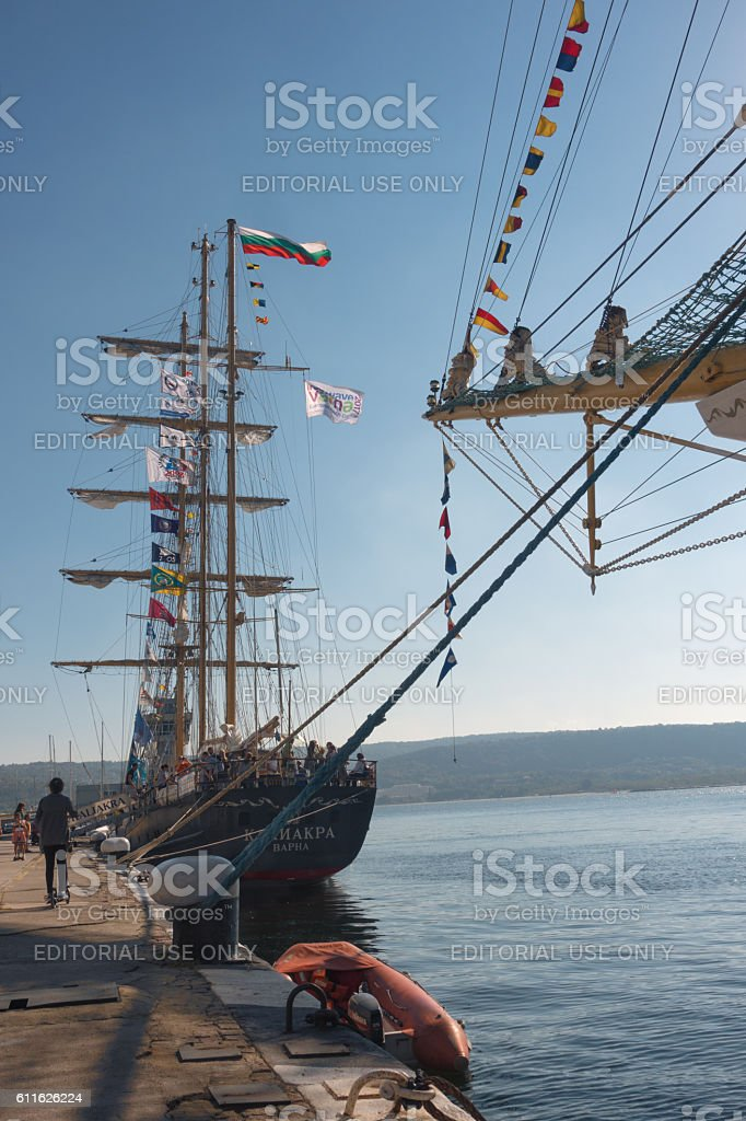 Vessel Kaliakra. stock photo