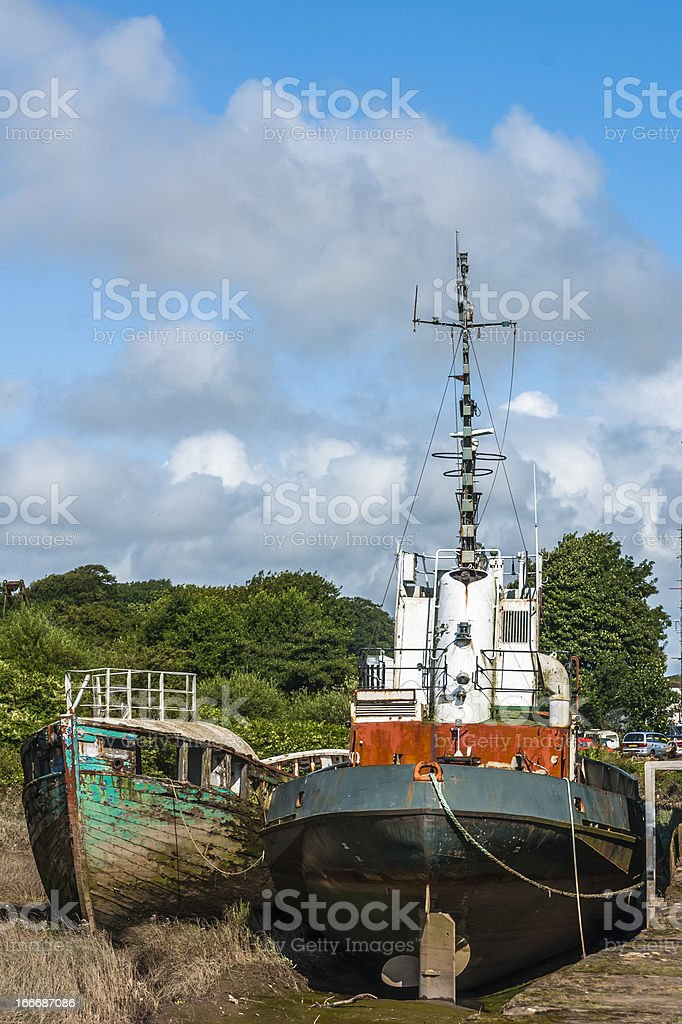 Vessels, Abandoned, Neglected, Decaying, stock photo