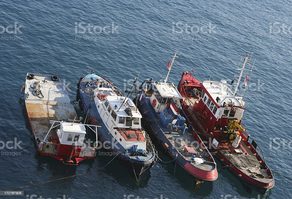 Vessels royalty-free stock photo