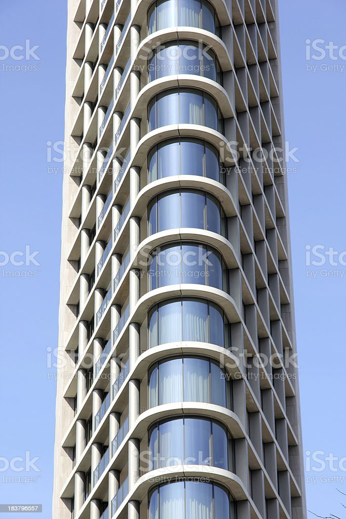 Vesteda Tower stock photo