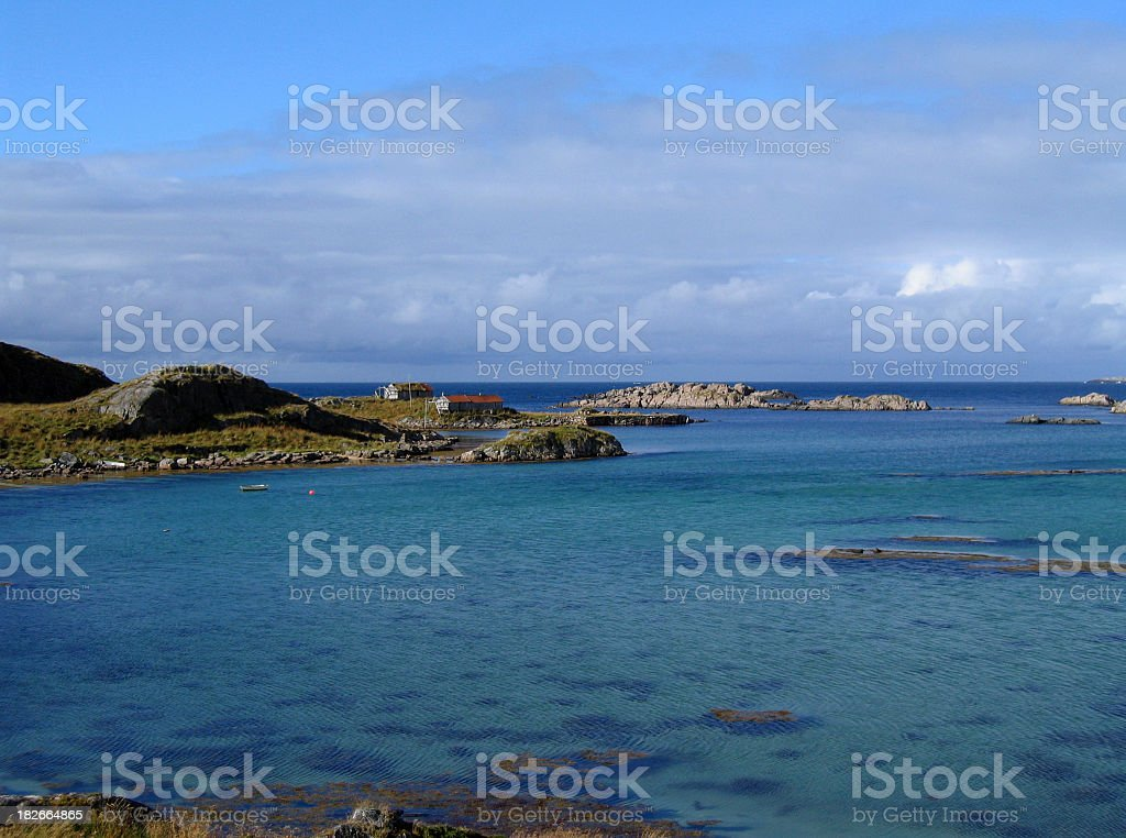 Vesteral Islands Norway stock photo
