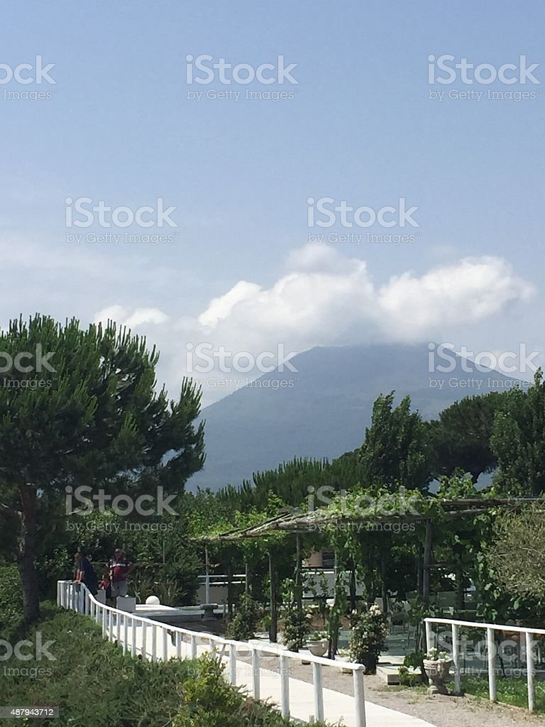 Vesuvius View stock photo