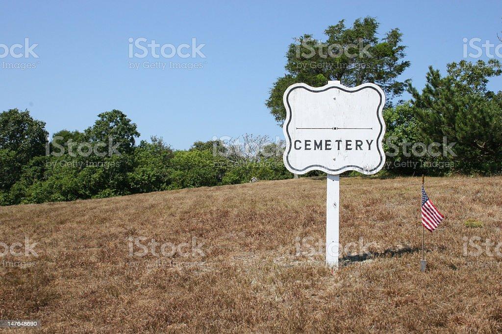 vetaran cemetery stock photo