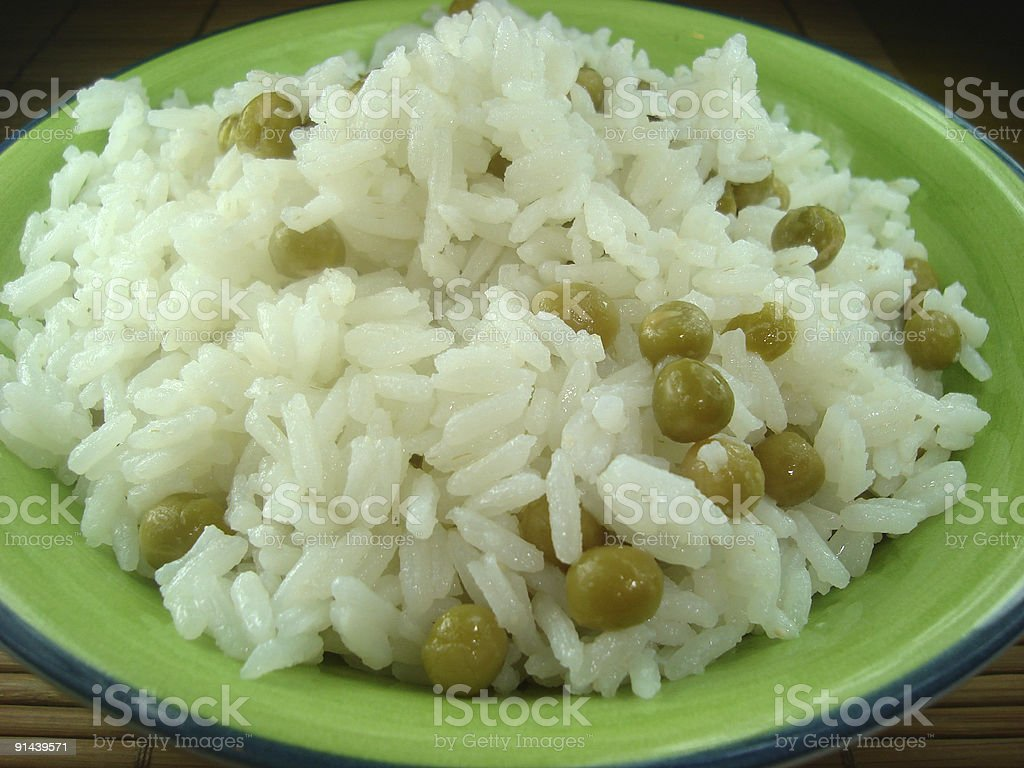 vetches with rice royalty-free stock photo